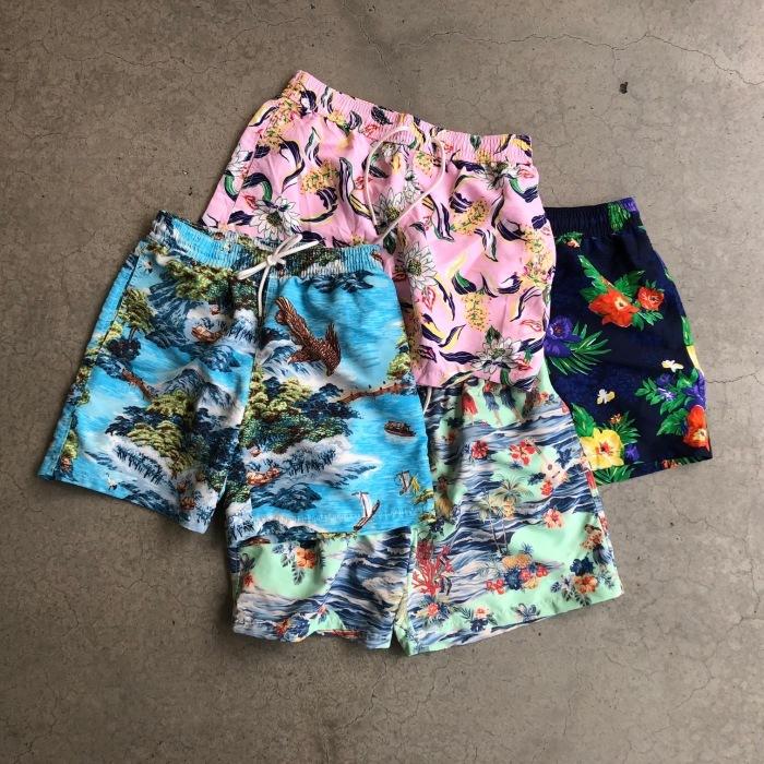 P-AKAS Men Teens Gifts Casual Beach Board Shorts Summer Sport Surfing Swim Trunks Black