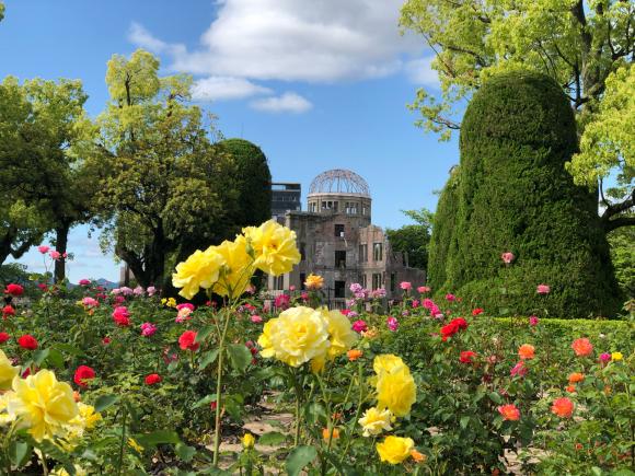 観光客の居ない平和公園_d0085254_20365820.jpg