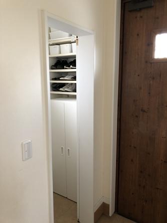 玄関・シューズクロークの収納改善_d0291758_2272029.jpg