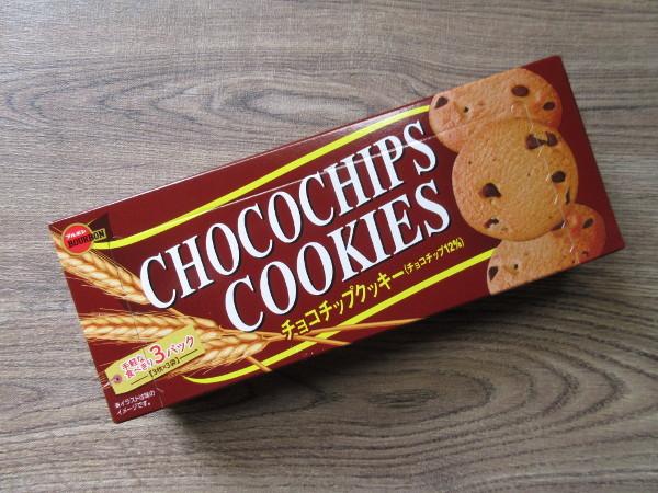 【ブルボン】チョコチップクッキー_c0152767_17390497.jpg