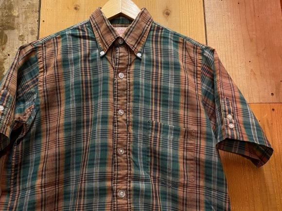 5月23日(土)11:30~マグネッツ大阪店オンラインストア夏物ヴィンテージ入荷!!#3 Vintage Shirt編Part1!!ボタンダウン&コットンボックスシャツ!!_c0078587_16241572.jpg