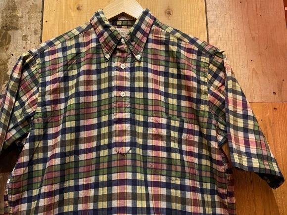 5月23日(土)11:30~マグネッツ大阪店オンラインストア夏物ヴィンテージ入荷!!#3 Vintage Shirt編Part1!!ボタンダウン&コットンボックスシャツ!!_c0078587_16274985.jpg