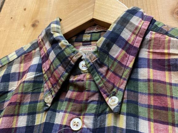 5月23日(土)11:30~マグネッツ大阪店オンラインストア夏物ヴィンテージ入荷!!#3 Vintage Shirt編Part1!!ボタンダウン&コットンボックスシャツ!!_c0078587_16275029.jpg