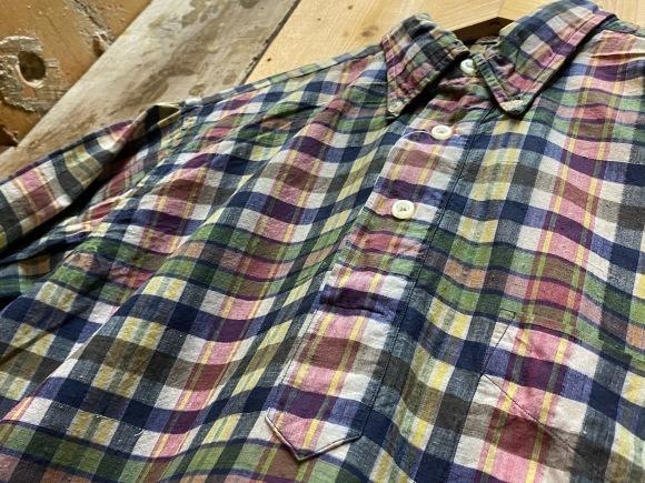 5月23日(土)11:30~マグネッツ大阪店オンラインストア夏物ヴィンテージ入荷!!#3 Vintage Shirt編Part1!!ボタンダウン&コットンボックスシャツ!!_c0078587_16294739.jpg