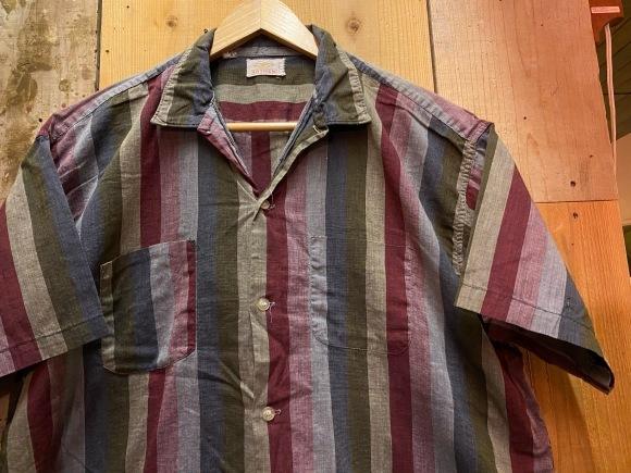 5月23日(土)11:30~マグネッツ大阪店オンラインストア夏物ヴィンテージ入荷!!#3 Vintage Shirt編Part1!!ボタンダウン&コットンボックスシャツ!!_c0078587_16373201.jpg