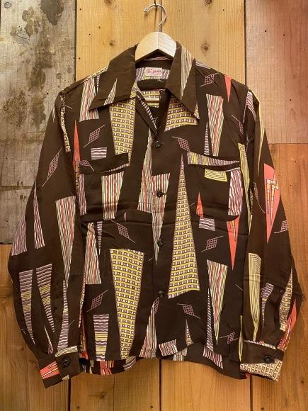 5月23日(土)11:30~マグネッツ大阪店オンラインストア夏物ヴィンテージ入荷!!#4 Vintage Shirt編Part2!!1940\'s~レーヨン&コットンボックスシャツ!!_c0078587_16582028.jpg