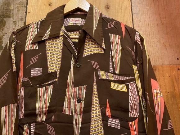 5月23日(土)11:30~マグネッツ大阪店オンラインストア夏物ヴィンテージ入荷!!#4 Vintage Shirt編Part2!!1940\'s~レーヨン&コットンボックスシャツ!!_c0078587_16582120.jpg