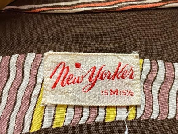 5月23日(土)11:30~マグネッツ大阪店オンラインストア夏物ヴィンテージ入荷!!#4 Vintage Shirt編Part2!!1940\'s~レーヨン&コットンボックスシャツ!!_c0078587_16582164.jpg
