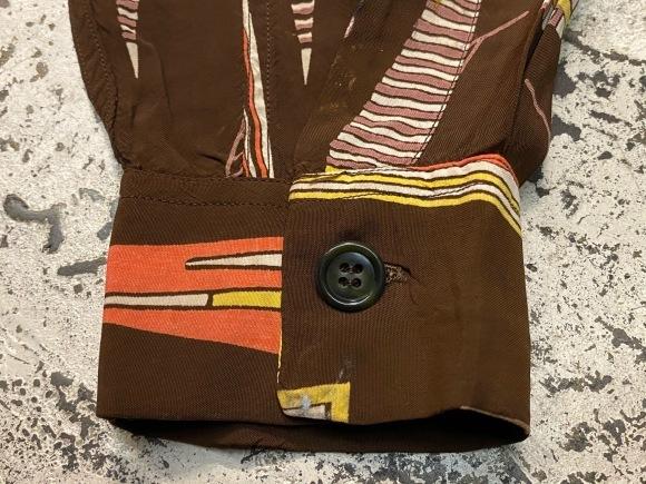 5月23日(土)11:30~マグネッツ大阪店オンラインストア夏物ヴィンテージ入荷!!#4 Vintage Shirt編Part2!!1940\'s~レーヨン&コットンボックスシャツ!!_c0078587_16582936.jpg