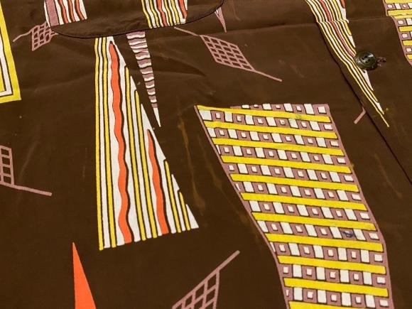 5月23日(土)11:30~マグネッツ大阪店オンラインストア夏物ヴィンテージ入荷!!#4 Vintage Shirt編Part2!!1940\'s~レーヨン&コットンボックスシャツ!!_c0078587_16583064.jpg