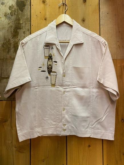 5月23日(土)11:30~マグネッツ大阪店オンラインストア夏物ヴィンテージ入荷!!#4 Vintage Shirt編Part2!!1940\'s~レーヨン&コットンボックスシャツ!!_c0078587_17041424.jpg