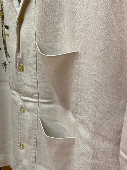 5月23日(土)11:30~マグネッツ大阪店オンラインストア夏物ヴィンテージ入荷!!#4 Vintage Shirt編Part2!!1940\'s~レーヨン&コットンボックスシャツ!!_c0078587_17042126.jpg