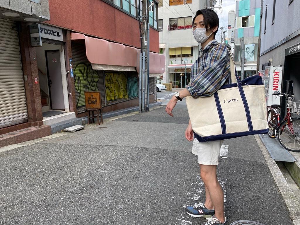 マグネッツ神戸店5/23(土)服飾雑貨&シューズ入荷! #2 L.L.Bean ZipTop Boat&Tote!!!_c0078587_17061597.jpg