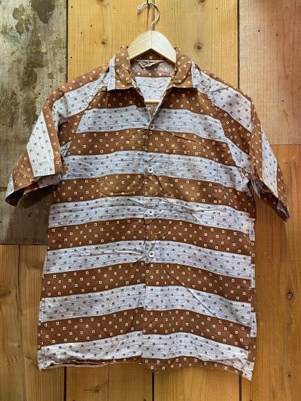 5月23日(土)11:30~マグネッツ大阪店オンラインストア夏物ヴィンテージ入荷!!#4 Vintage Shirt編Part2!!1940\'s~レーヨン&コットンボックスシャツ!!_c0078587_17110586.jpg