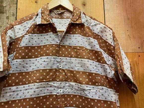 5月23日(土)11:30~マグネッツ大阪店オンラインストア夏物ヴィンテージ入荷!!#4 Vintage Shirt編Part2!!1940\'s~レーヨン&コットンボックスシャツ!!_c0078587_17110642.jpg