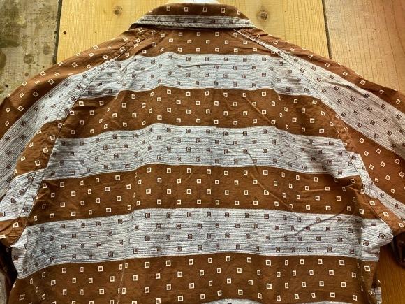5月23日(土)11:30~マグネッツ大阪店オンラインストア夏物ヴィンテージ入荷!!#4 Vintage Shirt編Part2!!1940\'s~レーヨン&コットンボックスシャツ!!_c0078587_17111661.jpg