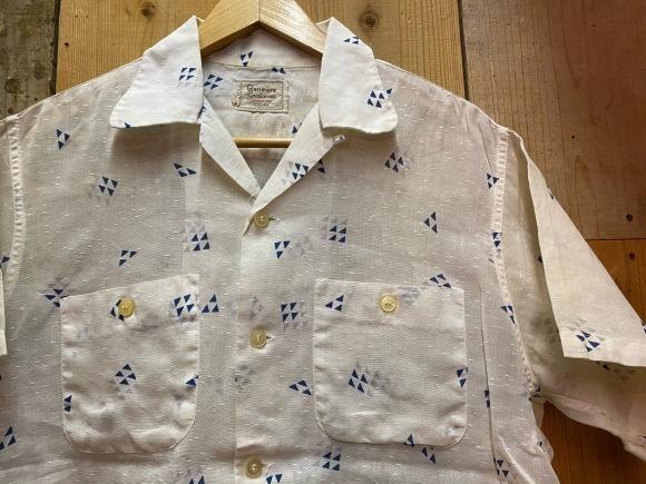 5月23日(土)11:30~マグネッツ大阪店オンラインストア夏物ヴィンテージ入荷!!#4 Vintage Shirt編Part2!!1940\'s~レーヨン&コットンボックスシャツ!!_c0078587_17131036.jpg