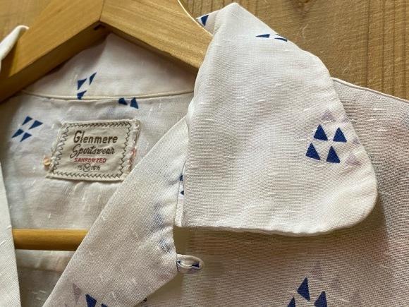 5月23日(土)11:30~マグネッツ大阪店オンラインストア夏物ヴィンテージ入荷!!#4 Vintage Shirt編Part2!!1940\'s~レーヨン&コットンボックスシャツ!!_c0078587_17131155.jpg