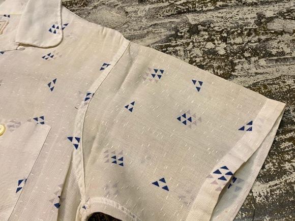 5月23日(土)11:30~マグネッツ大阪店オンラインストア夏物ヴィンテージ入荷!!#4 Vintage Shirt編Part2!!1940\'s~レーヨン&コットンボックスシャツ!!_c0078587_17132576.jpg