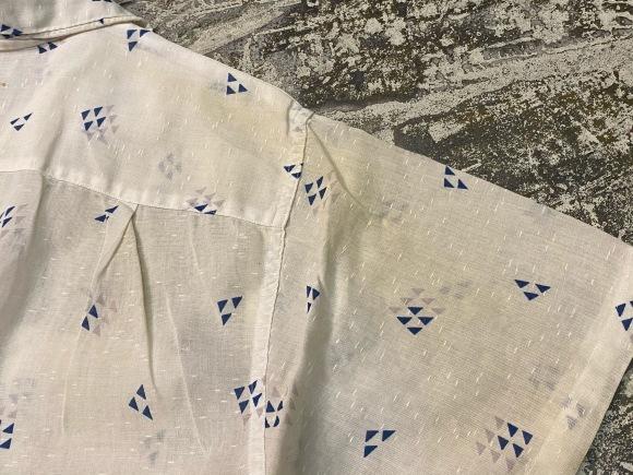 5月23日(土)11:30~マグネッツ大阪店オンラインストア夏物ヴィンテージ入荷!!#4 Vintage Shirt編Part2!!1940\'s~レーヨン&コットンボックスシャツ!!_c0078587_17132667.jpg