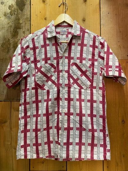 5月23日(土)11:30~マグネッツ大阪店オンラインストア夏物ヴィンテージ入荷!!#4 Vintage Shirt編Part2!!1940\'s~レーヨン&コットンボックスシャツ!!_c0078587_17163616.jpg