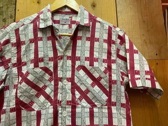 5月23日(土)11:30~マグネッツ大阪店オンラインストア夏物ヴィンテージ入荷!!#4 Vintage Shirt編Part2!!1940\'s~レーヨン&コットンボックスシャツ!!_c0078587_17163677.jpg