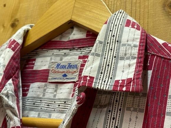 5月23日(土)11:30~マグネッツ大阪店オンラインストア夏物ヴィンテージ入荷!!#4 Vintage Shirt編Part2!!1940\'s~レーヨン&コットンボックスシャツ!!_c0078587_17163708.jpg