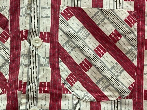 5月23日(土)11:30~マグネッツ大阪店オンラインストア夏物ヴィンテージ入荷!!#4 Vintage Shirt編Part2!!1940\'s~レーヨン&コットンボックスシャツ!!_c0078587_17163896.jpg