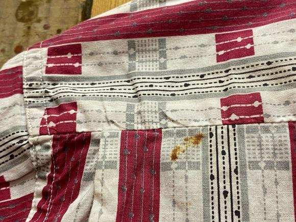 5月23日(土)11:30~マグネッツ大阪店オンラインストア夏物ヴィンテージ入荷!!#4 Vintage Shirt編Part2!!1940\'s~レーヨン&コットンボックスシャツ!!_c0078587_17164925.jpg