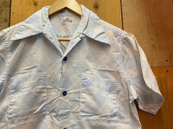 5月23日(土)11:30~マグネッツ大阪店オンラインストア夏物ヴィンテージ入荷!!#4 Vintage Shirt編Part2!!1940\'s~レーヨン&コットンボックスシャツ!!_c0078587_17184673.jpg