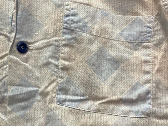 5月23日(土)11:30~マグネッツ大阪店オンラインストア夏物ヴィンテージ入荷!!#4 Vintage Shirt編Part2!!1940\'s~レーヨン&コットンボックスシャツ!!_c0078587_17185438.jpg