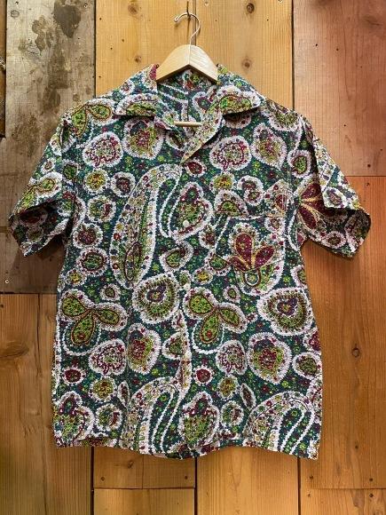 5月23日(土)11:30~マグネッツ大阪店オンラインストア夏物ヴィンテージ入荷!!#4 Vintage Shirt編Part2!!1940\'s~レーヨン&コットンボックスシャツ!!_c0078587_18070602.jpg