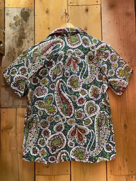 5月23日(土)11:30~マグネッツ大阪店オンラインストア夏物ヴィンテージ入荷!!#4 Vintage Shirt編Part2!!1940\'s~レーヨン&コットンボックスシャツ!!_c0078587_18070657.jpg