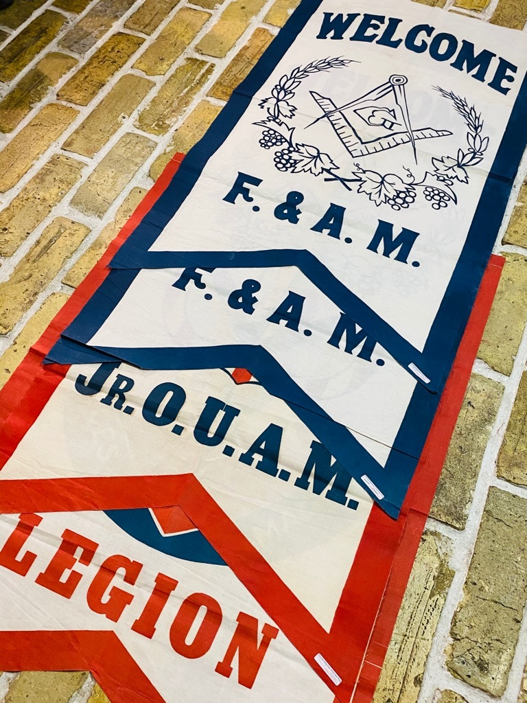マグネッツ神戸店5/23(土)OnlineStore服飾雑貨&シューズ入荷! #4 Vintage Flag,Rug Item!!!_c0078587_20335037.jpg