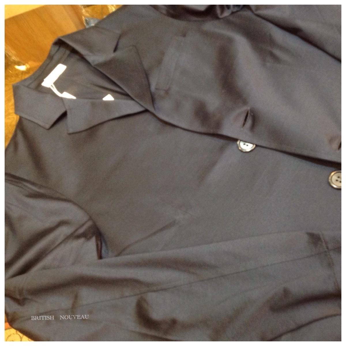 強撚糸 カットソー JACKET  (^○^)_f0039487_11311936.jpg