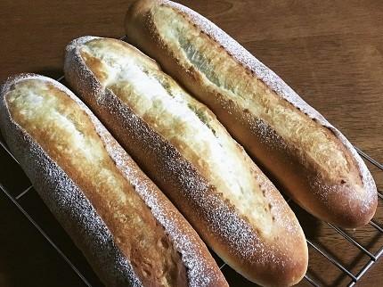 明太フランスパンと大きなクッキーシュー_f0231189_17570232.jpg
