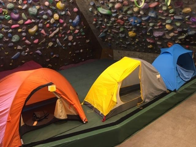 山岳用小型テント展示しています_d0198793_10190852.jpg