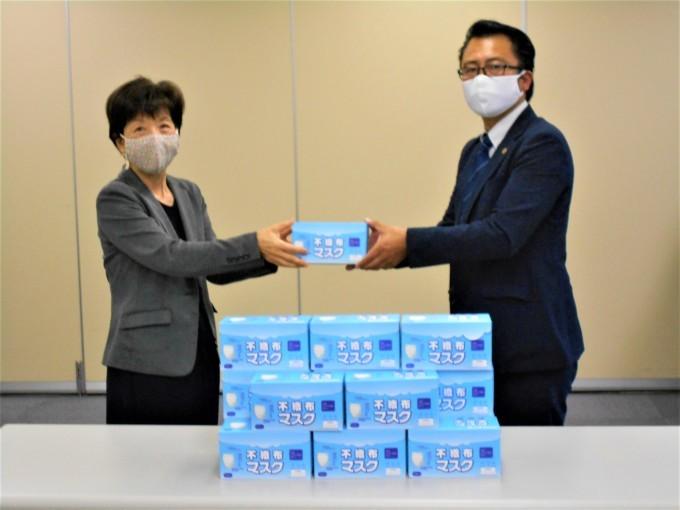 藤沢湘南ライオンズクラブ様よりマスクの寄贈について(お礼)_b0369905_13171154.jpg