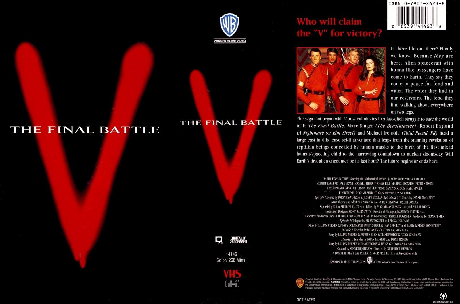 V (1983) & V: THE FINAL BATTLE (1984)_c0047930_04274470.jpg