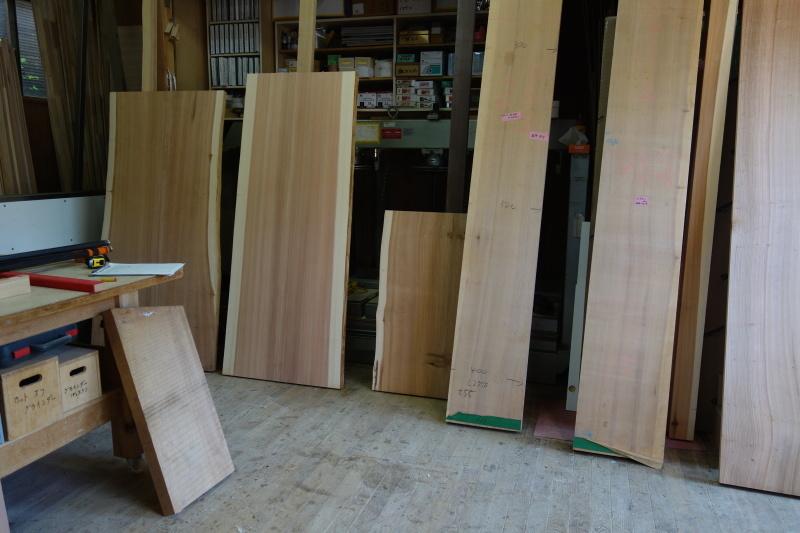 杉柾目 2枚ハギ テーブル、カウンター_e0156341_07070886.jpg