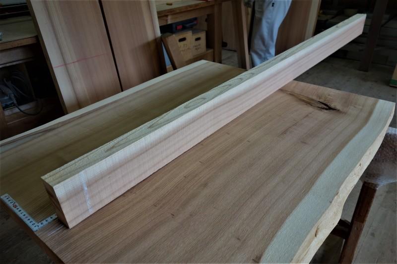 杉柾目 2枚ハギ テーブル、カウンター_e0156341_07074250.jpg