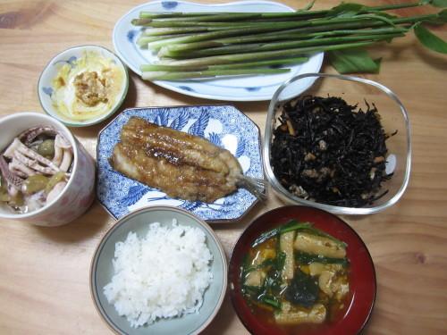 茗荷の食べ方_b0021059_09161941.jpg