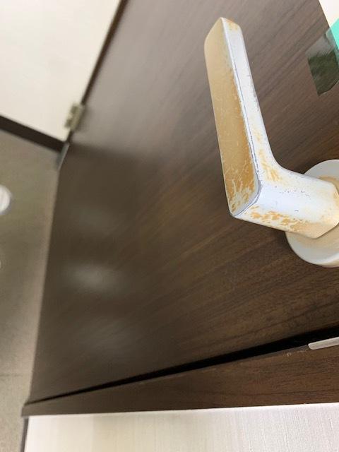 毎日の消毒・清掃でドアノブが、、、_c0263761_11254427.jpg