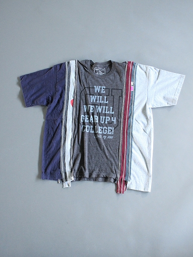 Rebuild By Needles 7 Cuts Wide Tee - College_b0139281_18221495.jpg