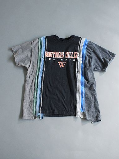 Rebuild By Needles 7 Cuts Wide Tee - College_b0139281_1823128.jpg