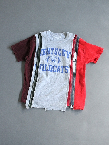 Rebuild By Needles 7 Cuts Wide Tee - College_b0139281_1823358.jpg