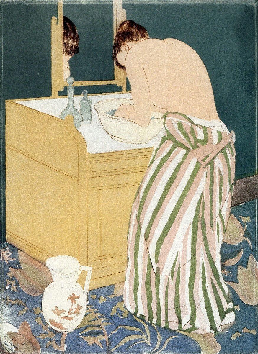 《沐浴する女性》_b0206085_15573000.jpg