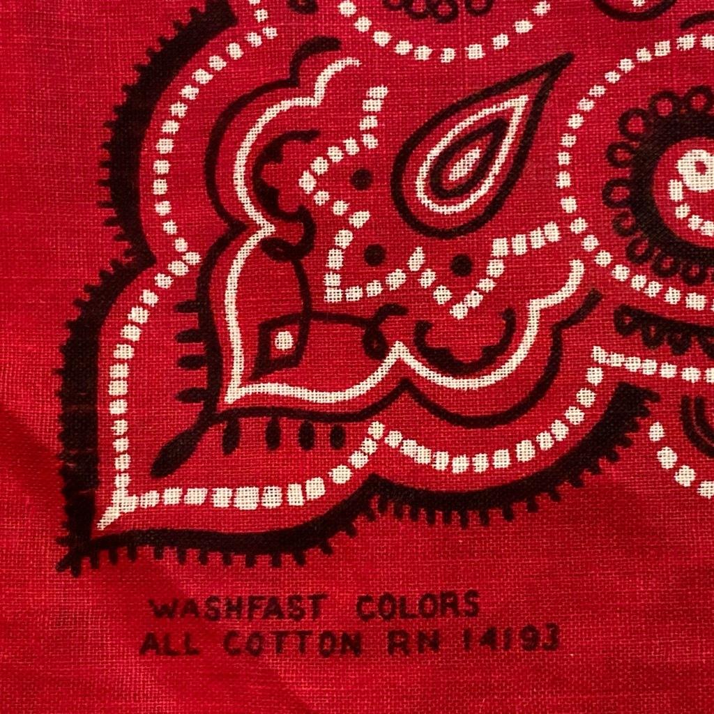 マグネッツ神戸店5/23(土)OnlineStore服飾雑貨&シューズ入荷! #5 Vintage  Bandana!!!_c0078587_15035054.jpg