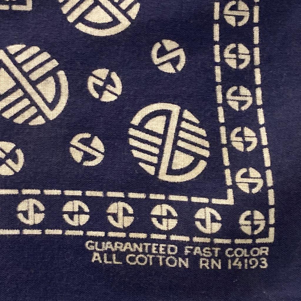 マグネッツ神戸店5/23(土)服飾雑貨&シューズ入荷! #5 Made in U.S.A. Bandana!!!_c0078587_17542909.jpg