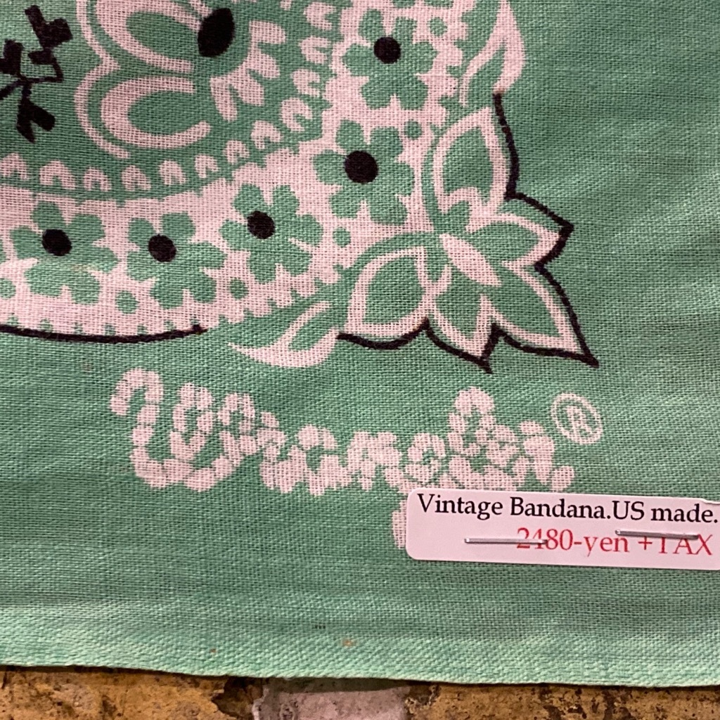 マグネッツ神戸店5/23(土)服飾雑貨&シューズ入荷! #5 Made in U.S.A. Bandana!!!_c0078587_17561829.jpg
